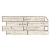Фасадная панель FineBer Сланец Мелованный белый 1130х470 мм