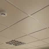 Потолок кассетный Cesal Tegular K90 010B Золотистый Жемчуг 595х595 мм