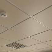Потолок кассетный Cesal Tegular K45 010B Золотистый Жемчуг 595х595 мм