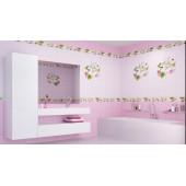 Яблоневый цвет розовый (рисунок)