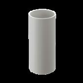 Труба водосточная DOCKE LUX цвет Белая 3метра