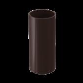 Труба водосточная DOCKE LUX цвет Коричневый 3метра
